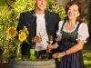 Karl jr. und Nina Holzmann im Heurigenhof